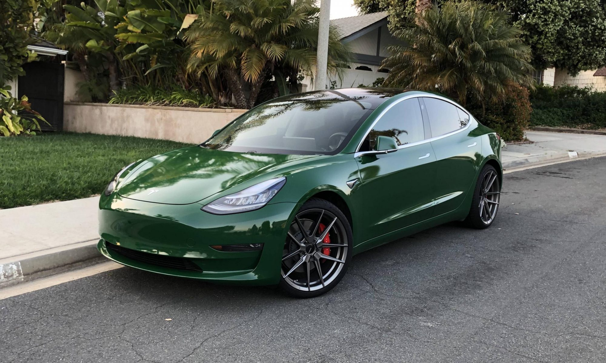Extraterrestial Tesla Motors